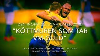 Sveriges inofficiella VM-låt 2018: Köttmuren som tar VM-guld! (