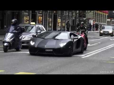 Lamborghini Aventador Blackout Concept Youtube