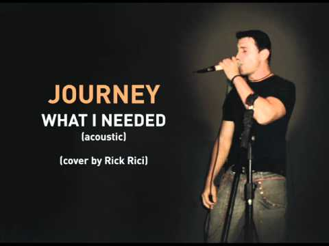 JOURNEY - What I Needed (cover by Rick Rici)