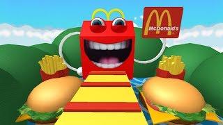 [로블록스(Roblox)] 맥도날드 없는 맥도날드 탈출맵!!! 산타할아버지가 대신있어요!!(Escape McDonalds Obby) 간단 리뷰 & 플레이 영상