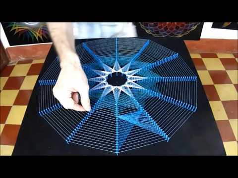 String Art Lucero Por Jorge De La Tierra