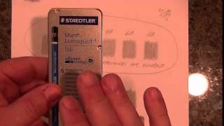Faber-Castell 9000 vs Staedtler Mars Lumograph 100   Best Drawing Pencils search