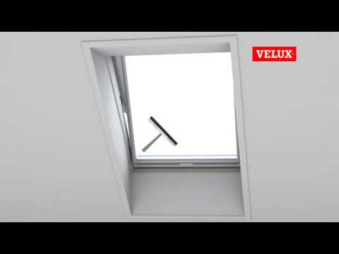 putzen eines velux fensters youtube. Black Bedroom Furniture Sets. Home Design Ideas