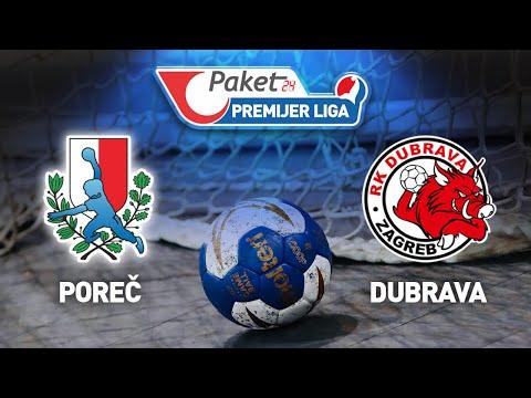Download RK Poreč vs RK Dubrava   Paket24 Premijer liga (Liga A)