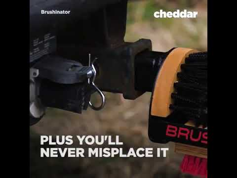 Clean your shoes off before getting into your vehicle with this brush