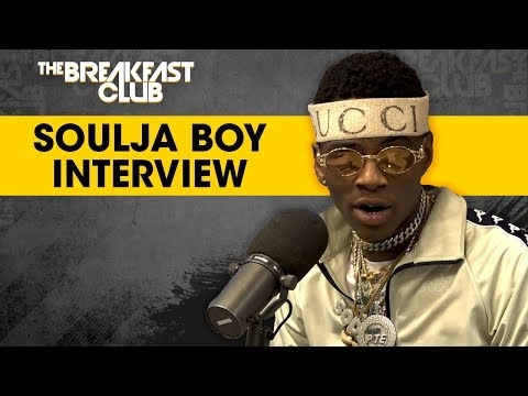 The Breakfast Club - Top 10 BC Interview Moments of 2019: #1 Soulja Boy Makes The #1 GIF of 2019