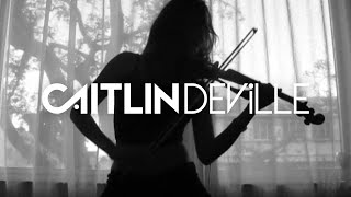 Hysteria (Muse) - Electric Violin Cover | Caitlin De Ville