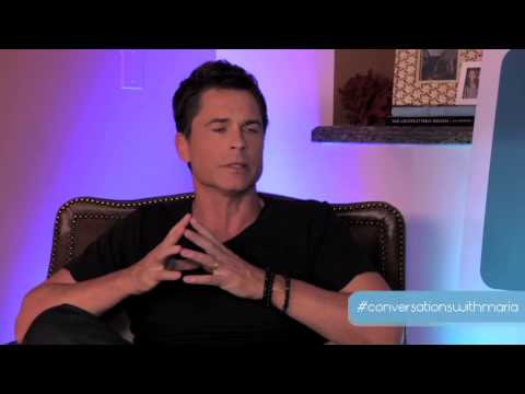 Rob Lowe | Conversations with Maria Menounos | November 1, 2013