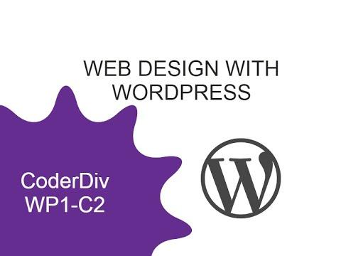 WordPress Course (WP1-C2)