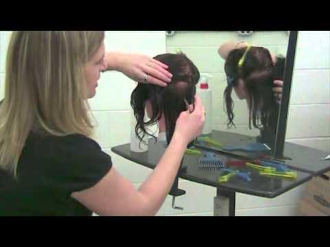 Cosmetology Blunt Hair Cut