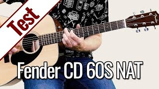 Fender CD 60S NAT | Gitarrentest