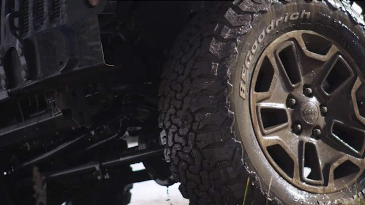 Bfgoodrich All Terrain T A Ko2 Takes On Playground Earth Tire Rack