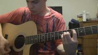 Who I am Hates Who I've Been (acoustic version tutorial)