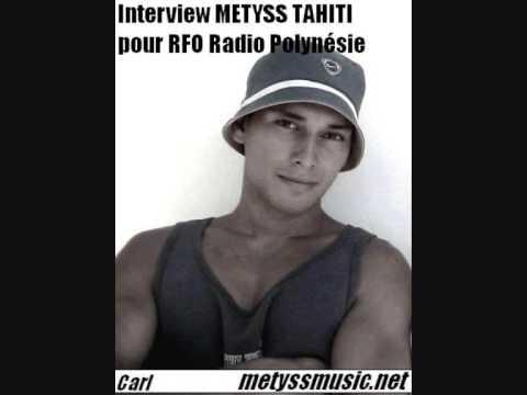 Interview Metyss Tahiti pour RFO Radio Polynésie