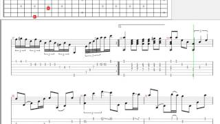 [Tab] Dấu chân địa đàng | guitar solo