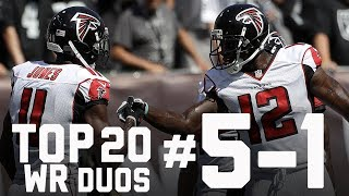 Top 20 Wide Receiver Duos Heading Into 2017 (#'s 5-1) | Burleson's Best | GMFB | NFL