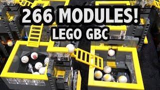 World's Longest LEGO Great Ball Contraption! Brickworld Chicago 2018