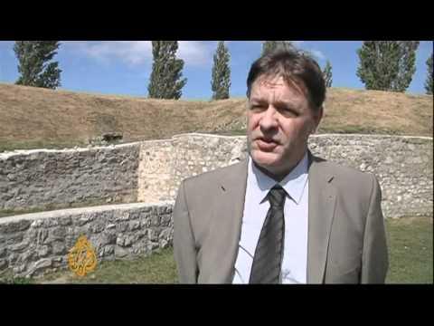 Gladiator school ruins unveiled in Austria