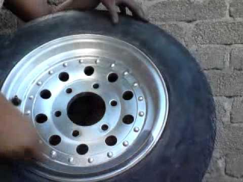 Como pulir un rin de aluminio o antimonio mp4 youtube - Pulir llantas de aluminio a espejo ...