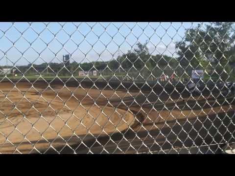 7D Jr Sprint Hot Laps Southern Illinois Raceway 7/15/17