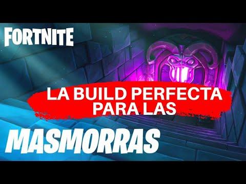 LA MEJOR BUILD PARA PASAR LAS MAZMORRAS 140 EN FORTNITE SALVAR EL MUNDO