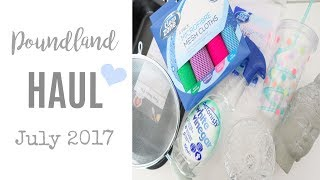 POUNDLAND HAUL JUNE & JULY 2017 | CLEANING, BABY, LAUNDRY AND HOME BARGAINS | MRS SMITH & CO.