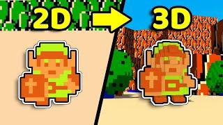 I Made The Legend of Zelda but it's 3D