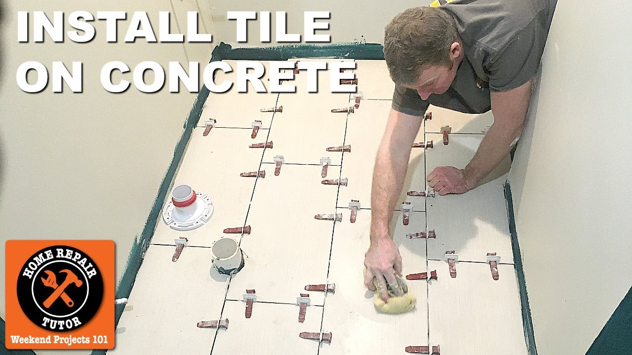 How To Install Large Format Tile On Concrete 7 Quick Tips