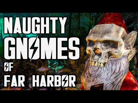 Naughty GNOMES Of Far Harbor - Fallout Detective