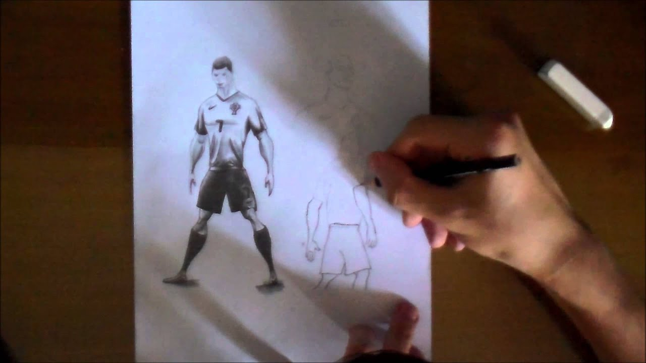 Nike Risk Everything - Cristiano Ronaldo - Pencil Drawing - Time Lapse - By  Mike. - YouTube