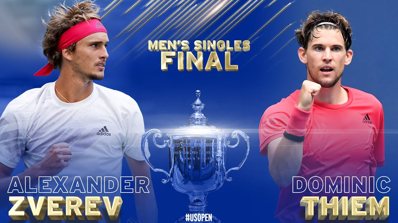 Alexander Zverev Vs Dominic Thiem Road To The Final Us Open 2020 Youtube