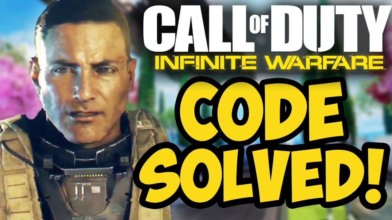 "NEW ""INFINITE WARFARE"" EASTER EGG CODE SOLVED! – REVEAL TRAILER TIME! (COD: Infinite Warfare)"