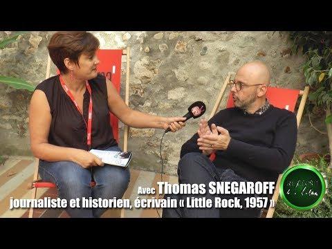 De l'écrit à l'écran   itw de Thomas SNEGAROFF