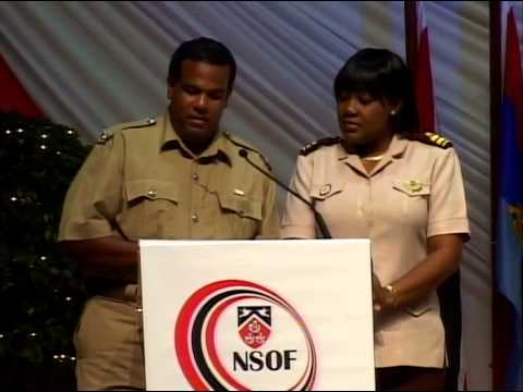 Ministry of National Security   Induction and Award   25 04 2013
