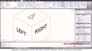 AutoCAD Isometric Text Tutorial | AutoCAD 2010