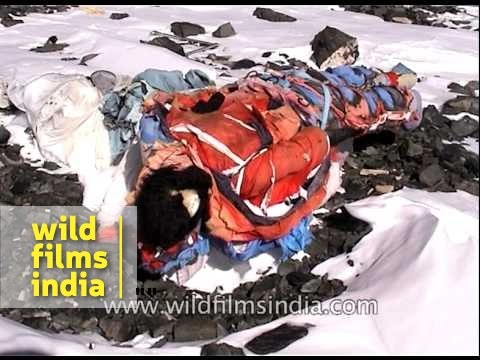 South Col on Everest : dump for dead bodies