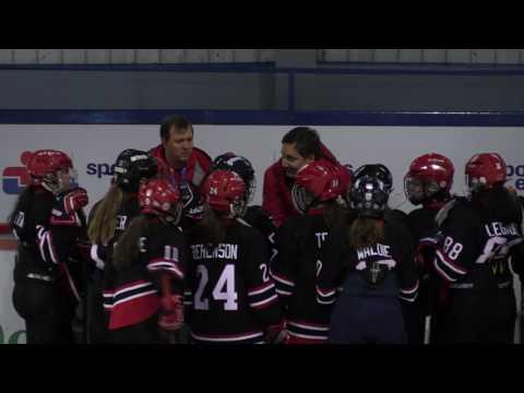Jeux du Québec – 2017 02 27 – Hockey Féminin   Centre du Québec VS Lac St Louis