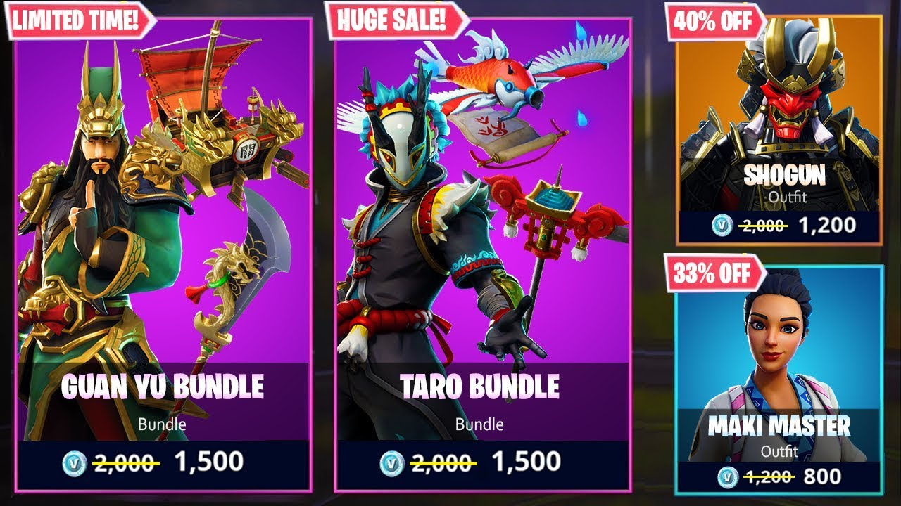 *NEW* FORTNITE BLACK FRIDAY ITEM SHOP SALE! (Cheap Skins, Bundles, Discounts, & MORE)