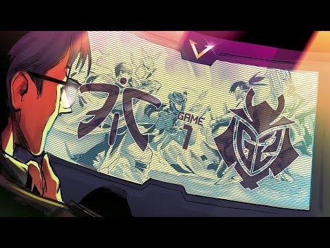 Vedius VOD Review - LEC Round 2 G2 vs Fnatic Game 1