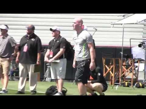 Connor Shaw pro day highlights