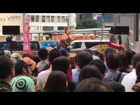 選挙最終日。 新宿西口小田急前で開催された 『目撃せよ!新宿センキョ    』 16時〜20時のライブ! わたしはちょっと遅れてしまったので(あ...
