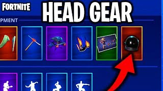 "NEW ""HELMET GEAR"" = MORE SHIELD! - FORTNITE NEW HEADGEAR + FREE SKINS COMING SOON! (Fortnite Skins)"