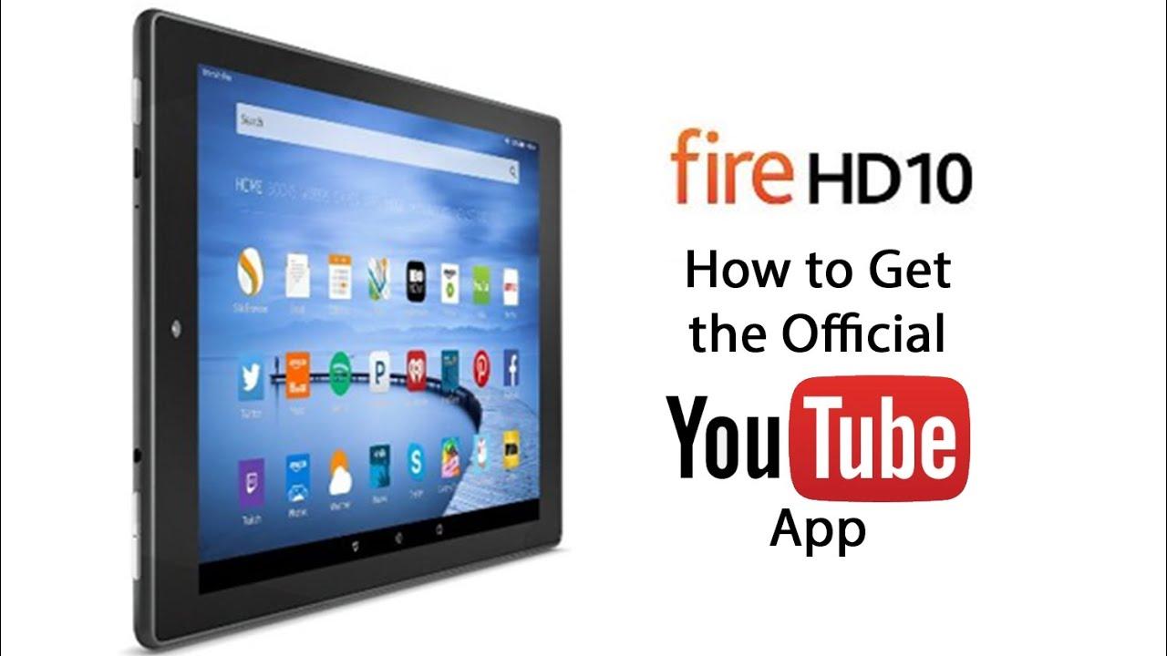 Youtube fire hd