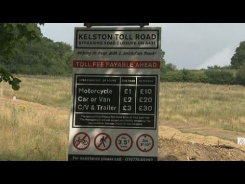 Entrepreneur builds private toll road after landslip