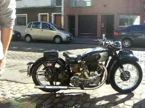 Royal Enfield J2 1948 - YouTube