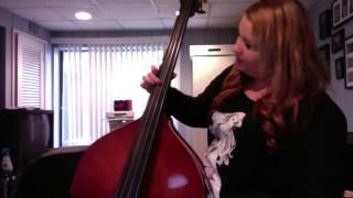"""Stand By Me""-Ben E. King Upright Bass Tutorial"