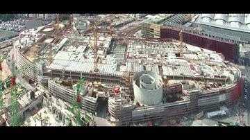 Zeitraffer Baustelle: Skyline Plaza Frankfurt - Panorama-Webcam live dabei