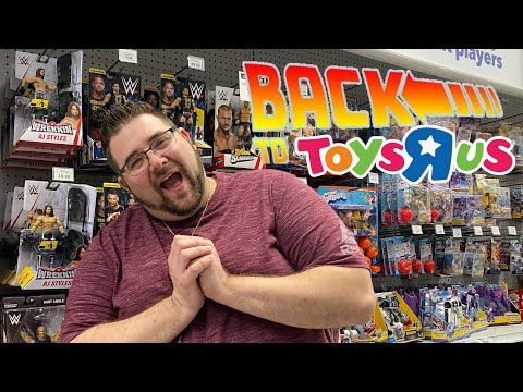 TRAVELED 1000 MILES TO A TOYSRUS THATS STILL IN BUSINESS!