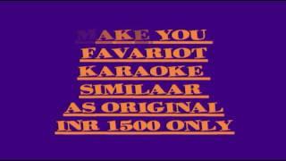 Priti ch zul zul pani karaoke