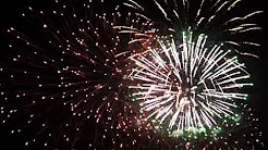 Fireworks-New Years Downtown Wasilla Alaska-2